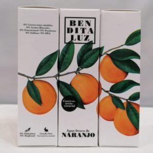 Agua fresca de naranjo de Sevilla